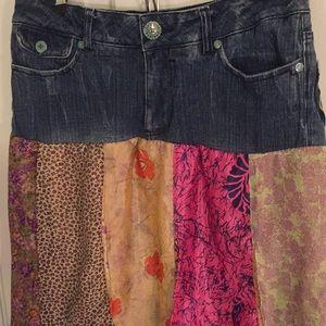akdmks Skirts - Akdmks Jean skirt with silky material, 30